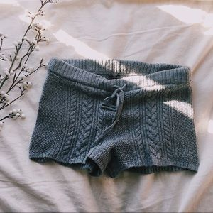 Aerie Cable Knit Lounge Shorts